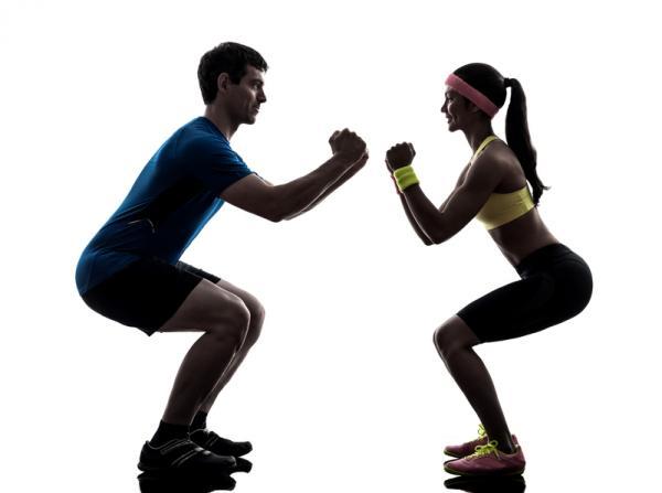 10 ejercicios de glúteos para hombres - ejercicios de glúteos para hombres: sentadillas