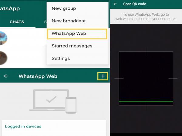Cómo recuperar fotos borradas de WhatsApp - usando la web de WhatsApp para recuperar fotos