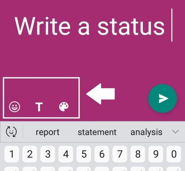 Cómo subrayar texto en WhatsApp - Consejos de texto de WhatsApp: estado del historial de WhatsApp