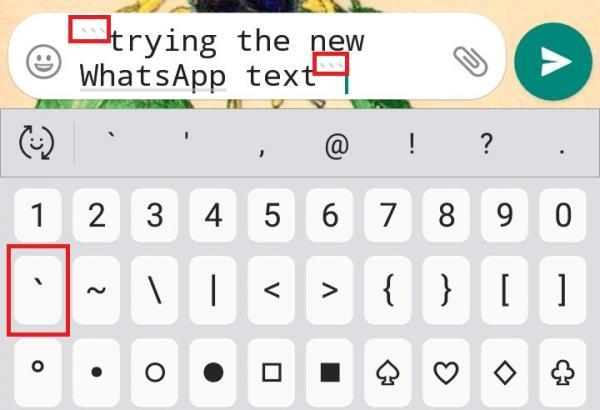 Cómo subrayar texto en WhatsApp - Consejo de texto de WhatsApp: cambie la fuente en WhatsApp