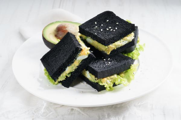 10 mejores platos de desayuno con aguacate y huevo: sándwich de mayonesa de aguacate