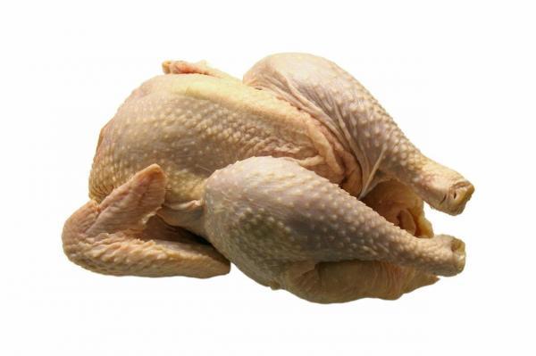 Receta de pollo relleno de Navidad - Paso 1