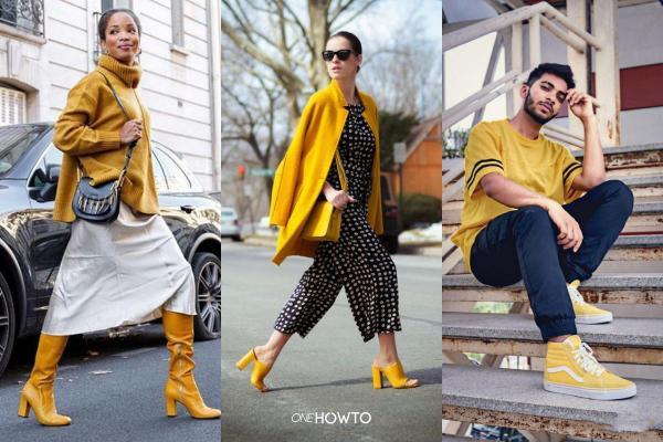 Cómo usar zapatos amarillos - Conjuntos de zapatos amarillos - Qué colores usar con zapatos amarillos