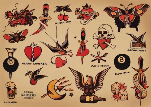 ¿Cuál es el significado de los tatuajes de Sailor Jerry? - ¿Cuál es el significado de los tatuajes de Sailor Jerry?