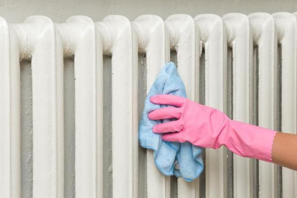 ¿Cómo limpio el polvo de mi radiador? - Cómo limpiar radiadores desde el exterior