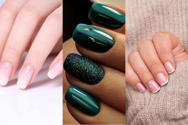 Que llevar con un vestido verde - color de uñas para un vestido verde