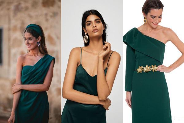 Que llevar con un vestido verde - accesorios para un vestido verde