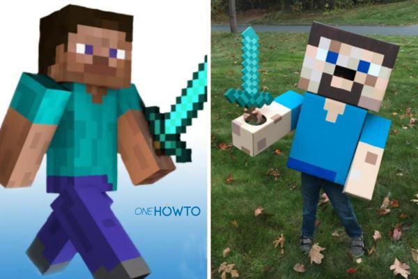 Cómo hacer un disfraz de Minecraft: ¡Steve, Creeper y más! - Cómo hacer un disfraz de