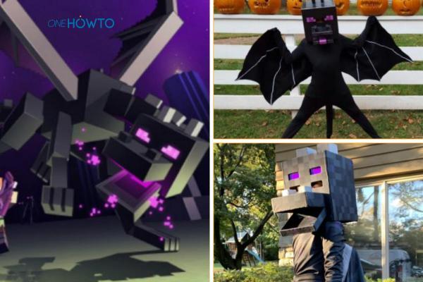 Cómo hacer un disfraz de Minecraft: ¡Steve, Creeper y más! - Cómo hacer un disfraz de dragón Ender de Minecraft