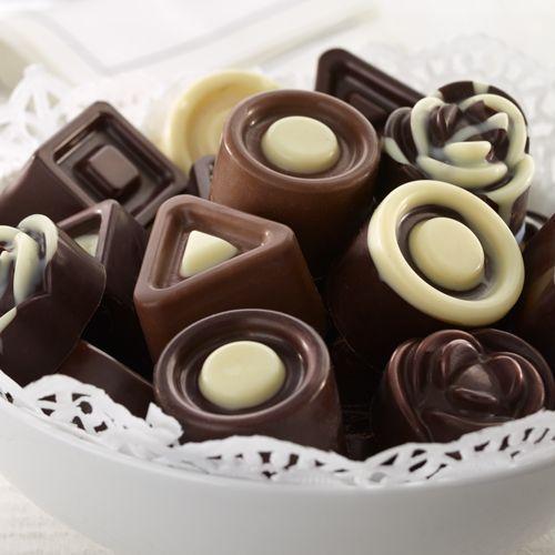 Cómo hacer caramelos de chocolate
