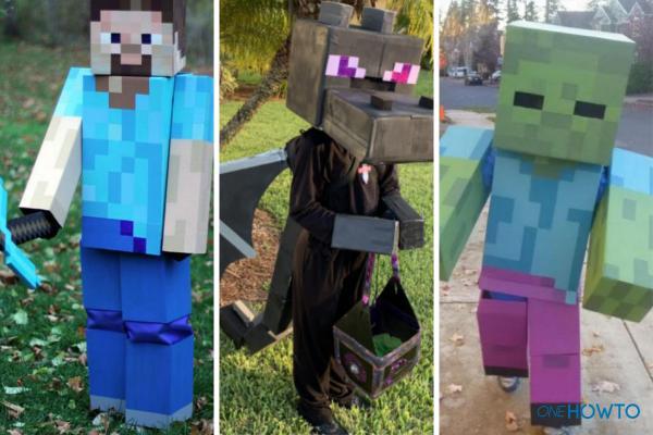 Cómo hacer un disfraz de Minecraft
