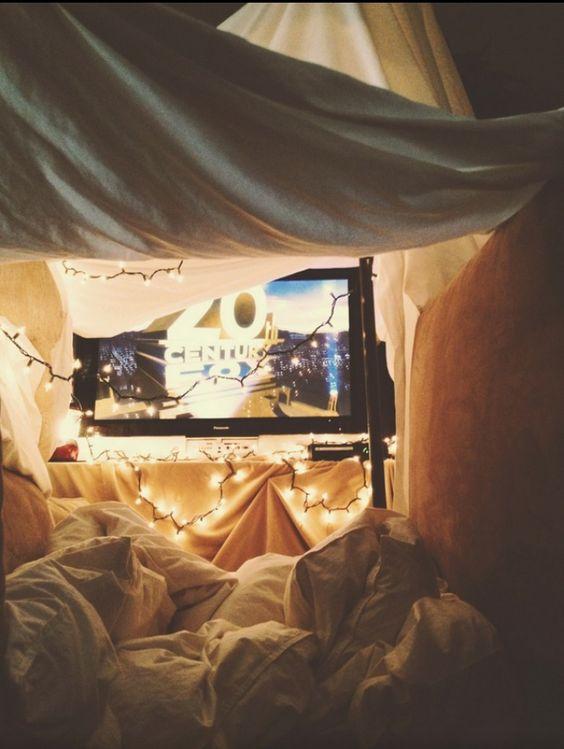 Cómo organizar una noche de cine en casa