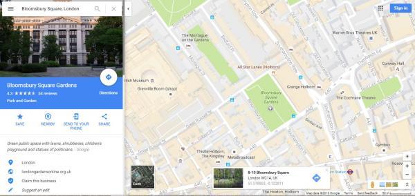 Cómo ver las coordenadas en Google Maps - Paso 3
