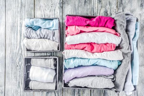 Cómo doblar la ropa interior en el cajón: cómo organizar el cajón de la ropa interior