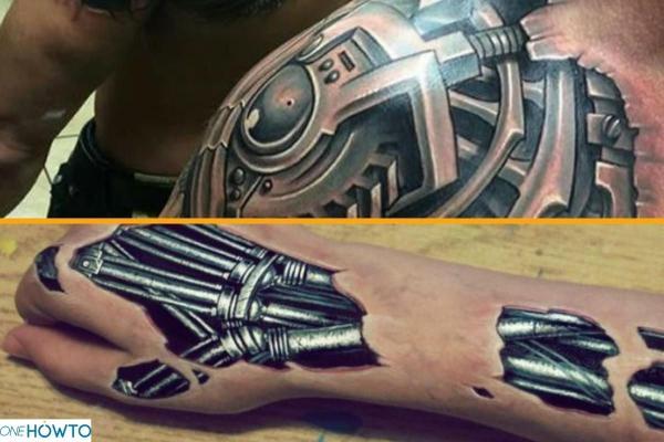Estilos y diseños de tatuajes - Con fotos - Biomecánica