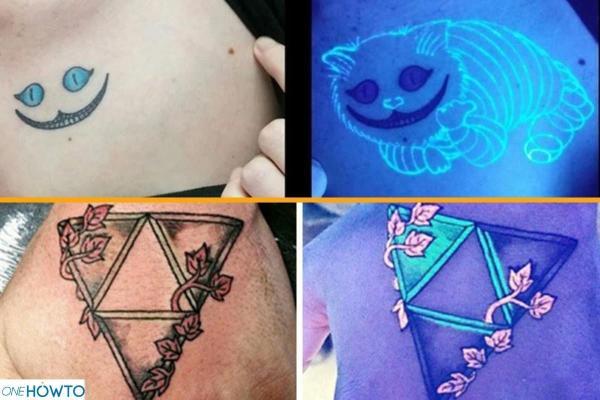 Estilos y diseños de tatuajes - Con fotos - Luz ultravioleta o negra