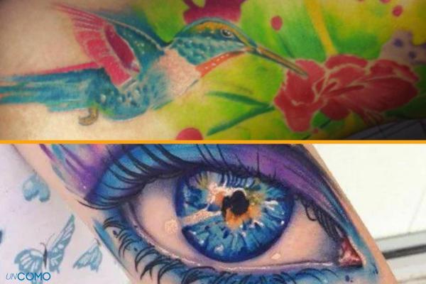 Estilos y diseños de tatuajes - Con imágenes - Acuarela