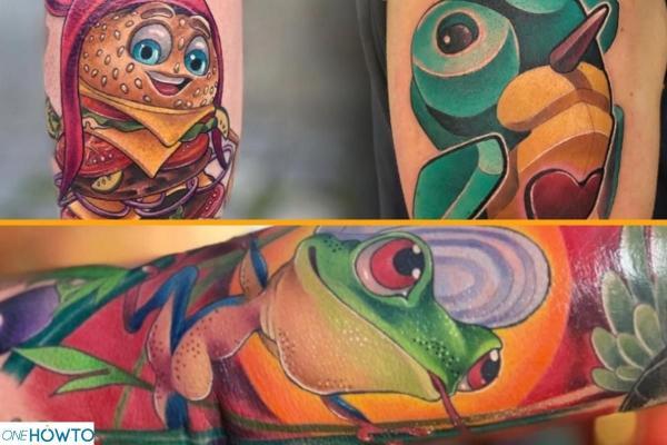 Estilos y diseños de tatuajes - Con imágenes - Nueva escuela