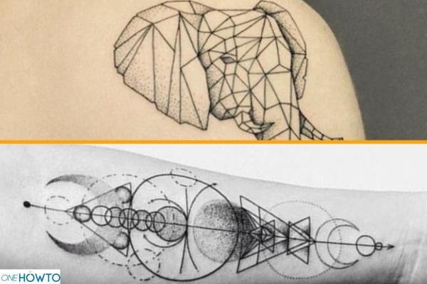 Estilos y diseños de tatuajes - Con imágenes - Geométrico