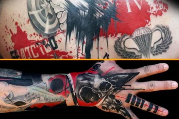 Estilos y diseños de tatuajes - Con imágenes - Trash Polka