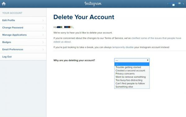 Cómo eliminar mi cuenta de Instagram de forma permanente - Cómo eliminar su cuenta de Instagram de forma permanente