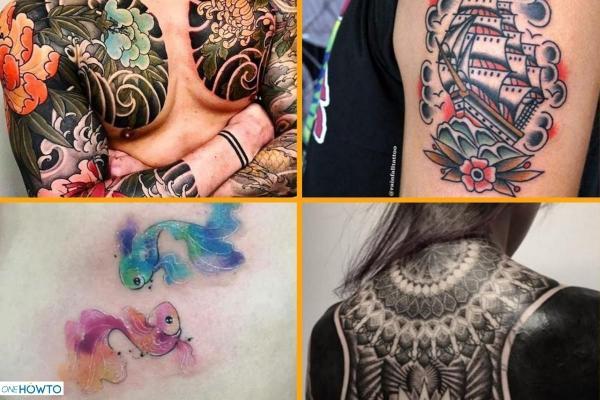 Más de 15 estilos y diseños de tatuajes