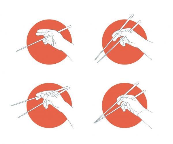 Cómo comer con palillos chinos - Cómo usar los palillos tradicionales