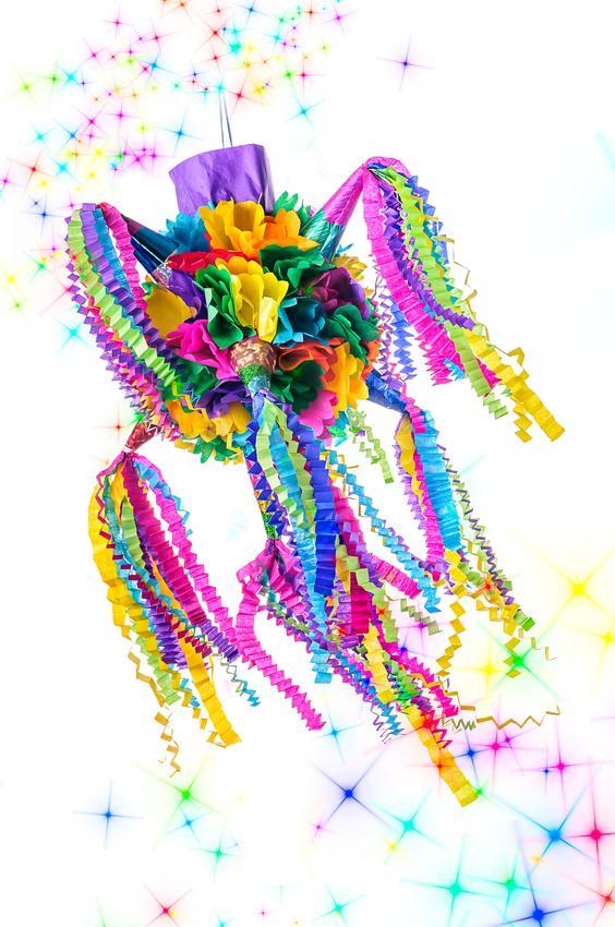 Cómo hacer una piñata con globos - Paso 5