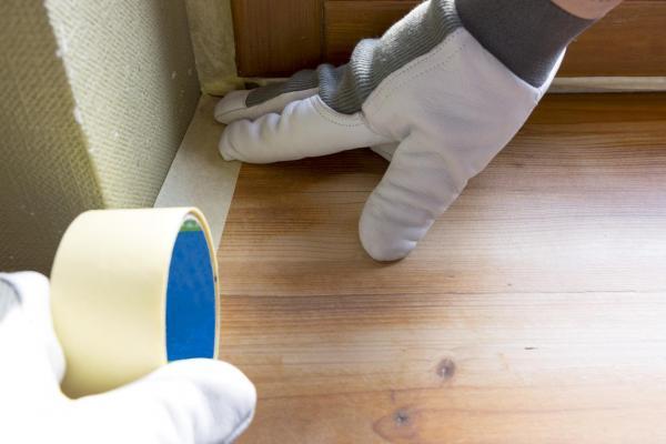 Cómo pintar un techo de madera - Paso 3