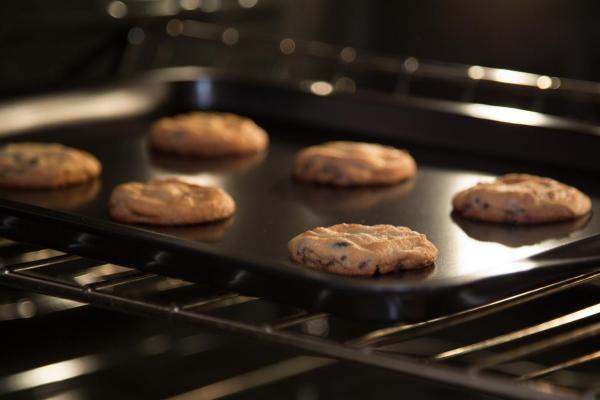 Cómo hacer galletas de avena con chocolate y plátano sin azúcar - Paso 8