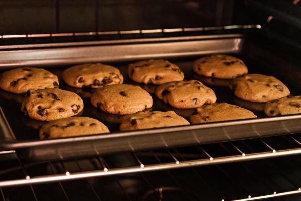 Cómo hacer galletas de avena con chocolate y plátano sin azúcar - Paso 9