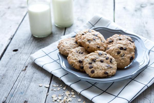 Cómo hacer galletas de avena con plátano y chocolate sin azúcar