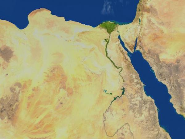 ¿Qué países cruza el Nilo?