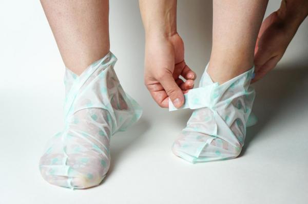 Cómo usar los calcetines exfoliantes - Cómo usar los calcetines exfoliantes (Guía paso a paso)
