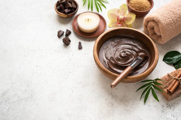 Cómo encerar con chocolate
