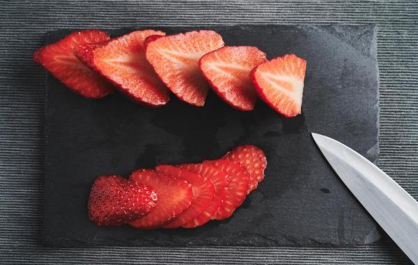 Cómo hacer un granizado de fresa en casa - Paso 1
