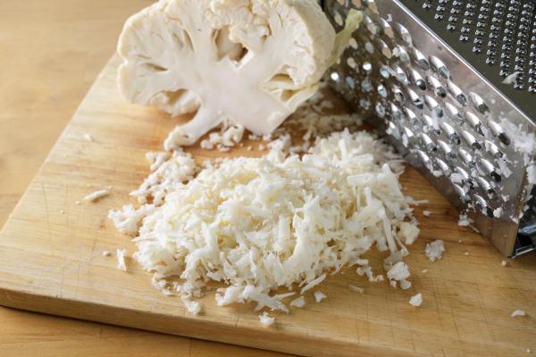 Cómo hacer cuscús de coliflor - Paso 2