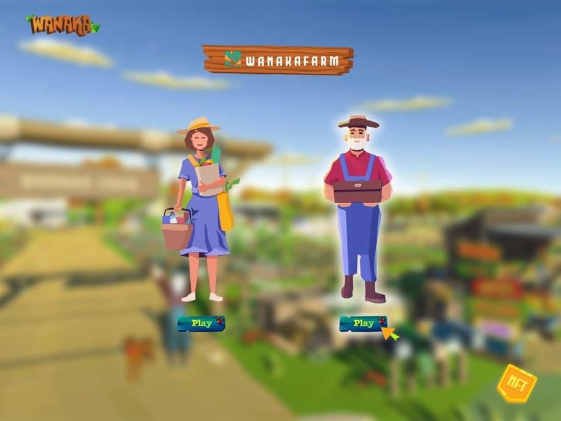 agricultores trabajando la tierra