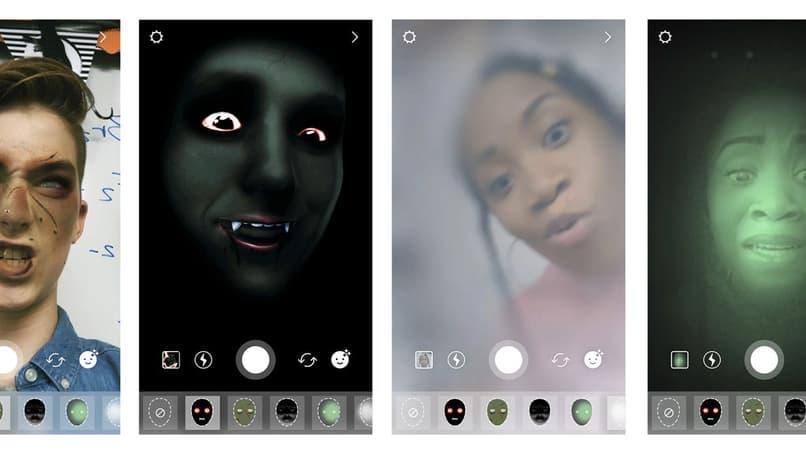 filtros de halloween para tus fotos