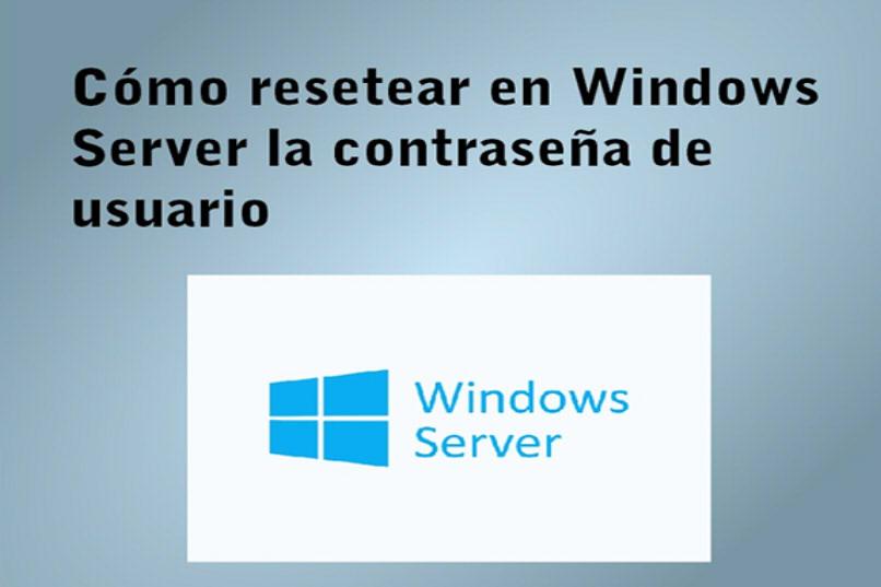 cómo reiniciar un usuario en el servidor de Windows