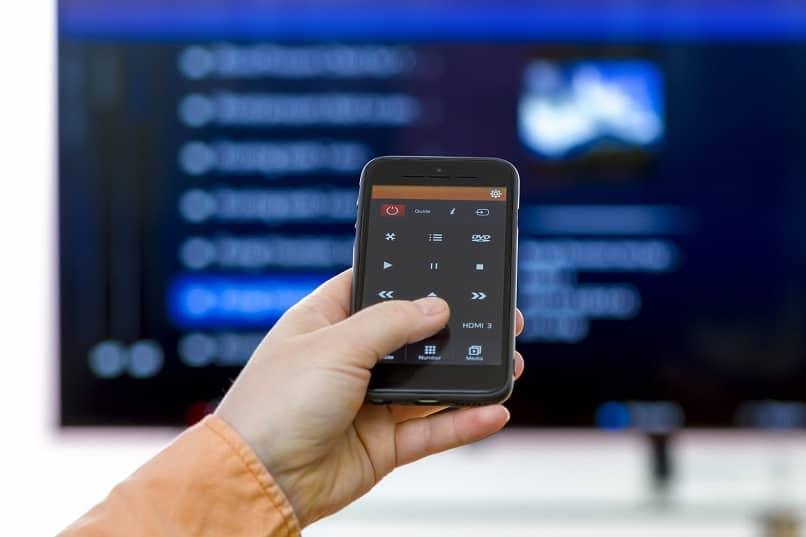 aplicación de control remoto para teléfono