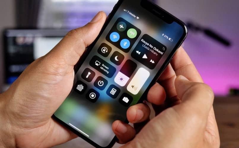 Datos móviles en iPhone