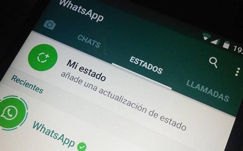 Ver estados de WhatsApp