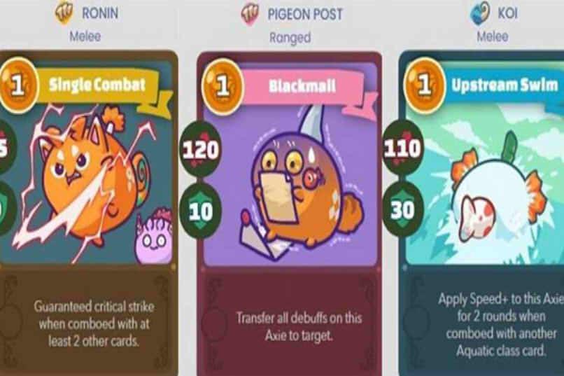 qué información hay en una tarjeta de juego
