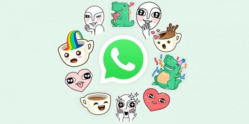 paquetes de pegatinas en whatsapp