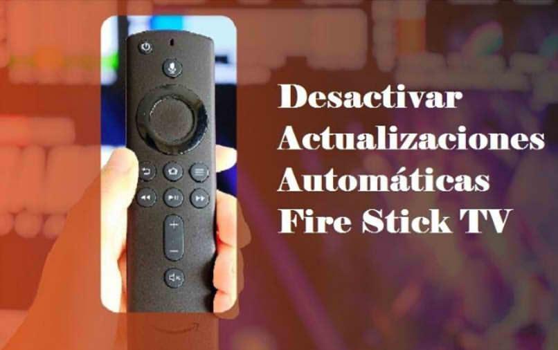 cómo actualizar el palo de fuego manualmente