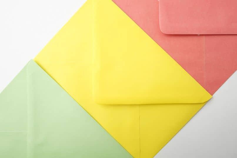 sobres de telegrama mensajes