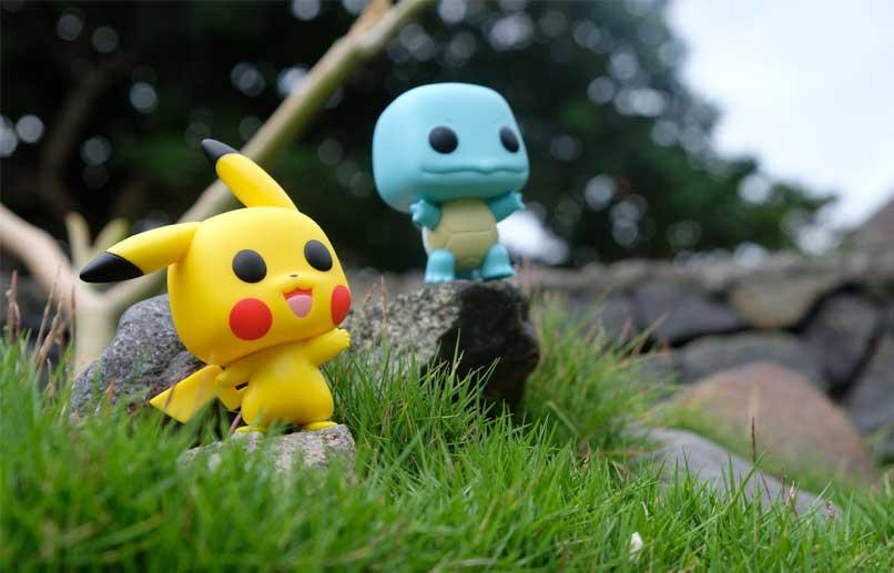 vista previa de la unidad pokemon