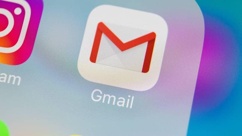 aplicación de gmail
