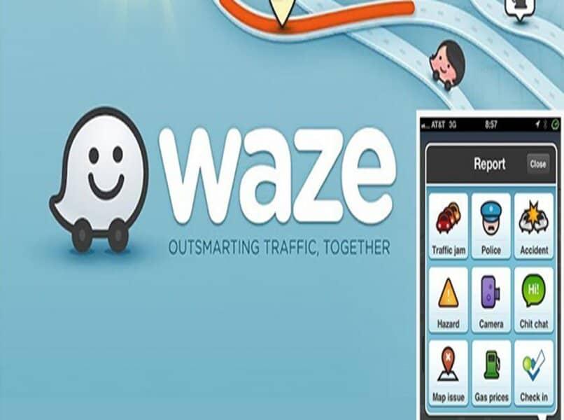 aplicación waze para android auto